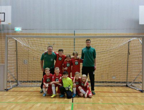 E1-Junioren holen 3. Platz beim Hallenturnier des SV Bad Heilbrunn!