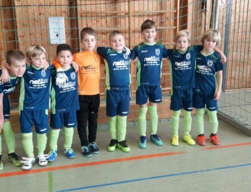Hallenturnier der F1-Jugend des 1. FC Penzberg, letzter Platz