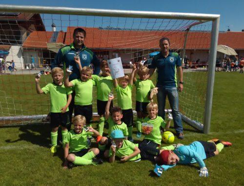 G1-Junioren belegen 2. Platz beim Sommerturnier des TSV Königsdorf!