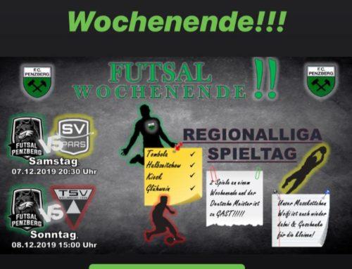 Futsal Doppel-Heimspieltag am 7. und 8. Dezember