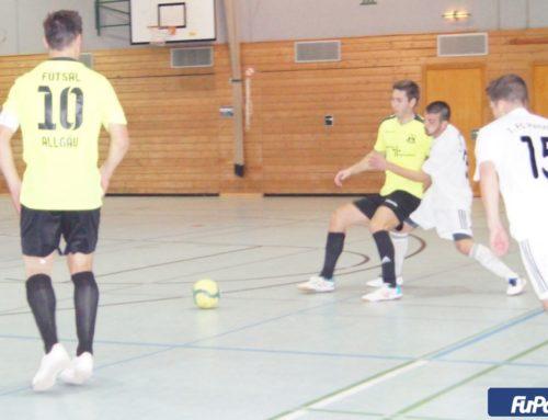 Hochklassiges Futsal-Duell endet vor 250 Zuschauern unentschieden