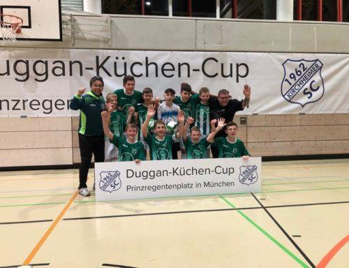 C-Jugend siegt bei U15 Duggan Küchen Cup 2020 beim Kirchheimer SC