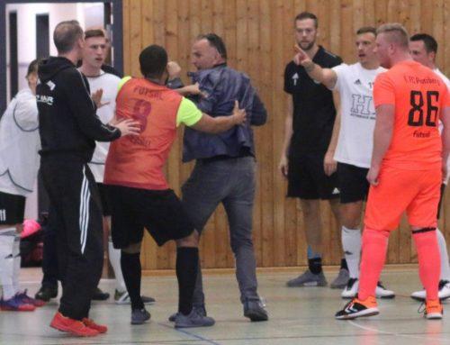 Hochklassiges Futsal-Endspiel – bis Allgäu Fan ausrastet