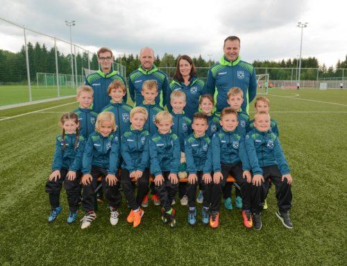 F2-Jugend bei Hallenturnier des SV Pullach, 4. Platz, Gruppenzweiter Gruppe A