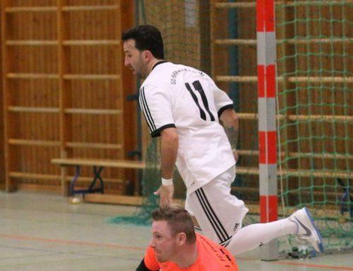Futsal: Neuer Torhüter – Erster Saisonsieg