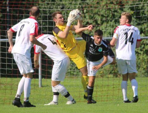 """""""Schädel"""" Wiedenhofer rettet FC – enttäuschendes 1:1 beim SV Raisting"""