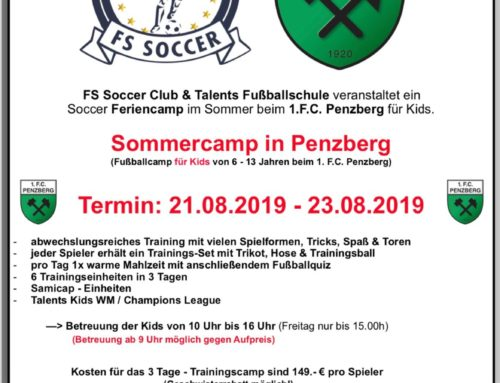 FCler Jugend Camp vom 21.08.-23.08.