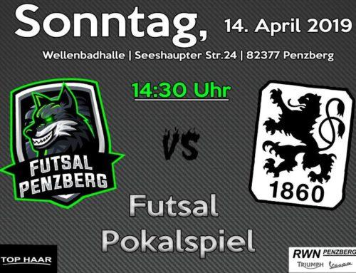 Futsal Pokalspiel gegen 1860 München