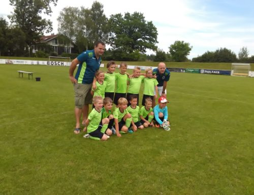 Slimy-Soccer-Cup in Starnberg der G1-Junioren!!