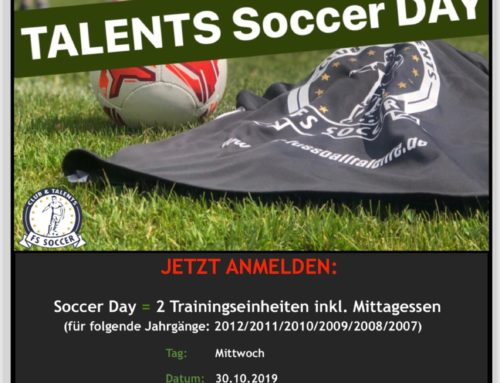 Talents Soccer Day am 30.10.