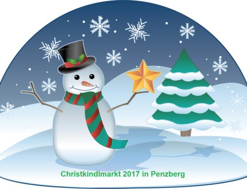 Christkindlmarkt 2017 mit dem 1.FC Penzberg