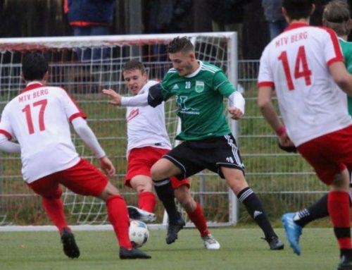Bezirksliga Süd: Spielbericht MTV Berg : 1.FC Penzberg