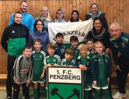 1.Platz im G-Jugend Hallenturnier des 1.FC Penzberg